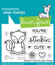 Lawn Fawn - Stinkin' Cute Stamp Set (LF-1022)