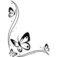 Butterflys - Embossing Folder (EB12-107)