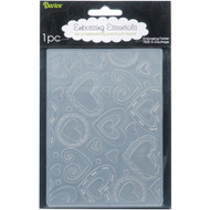 Layered Hearts - Embossing Folder (EB12-15-69)