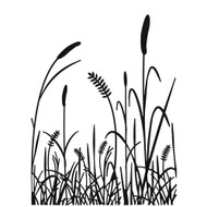 Grass Silhouette - Embossing Folder (EB12-18-75
