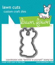 Lawn Fawn - Believe In Yourself Lawn Cuts (LF-1043)