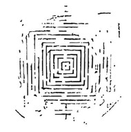 The Crafters Workshop 6 x 6 Stencil - Labyrinth (TCW486)