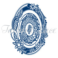 Tattered Lace Trade (D1077) Royal Lace 2 Oval