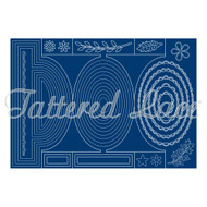 Tattered Lace Trade (ETL124) Essentials by Tattered Lace - Oval Shutter Card