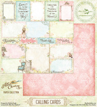Blue Fern Studio - Attic Charm - Calling Cards
