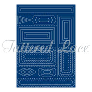 Tattered Lace Shaped Cards - Side Stepper Card (SC01)