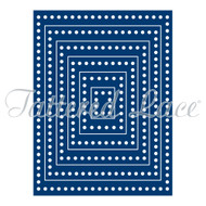 Tattered Lace Essentials - Decorative Edge Rectangles (ETL012)
