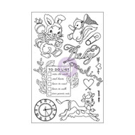 Prima Marketing - 4x6 Cling Stamps - Heaven Sent (PM-587529)