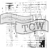 The Crafters Workshop 6 x 6 Stencil - Sketch Grid (TCW456)
