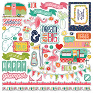 Photoplay - Happy Glamper - Elements Stickers
