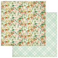 Photoplay - Fresh Picked - 12 x 12 Garden Fresh Scrapbook Paper
