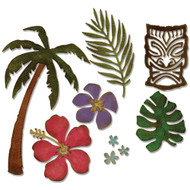 Sizzix Bigz Dies by Tim Holtz - Tropical (661207)