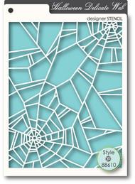 Memory Box Stencil - Delicate Web