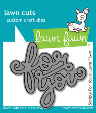 Lawn Fawn - Scripty For You Lawn Cuts (LF-990)