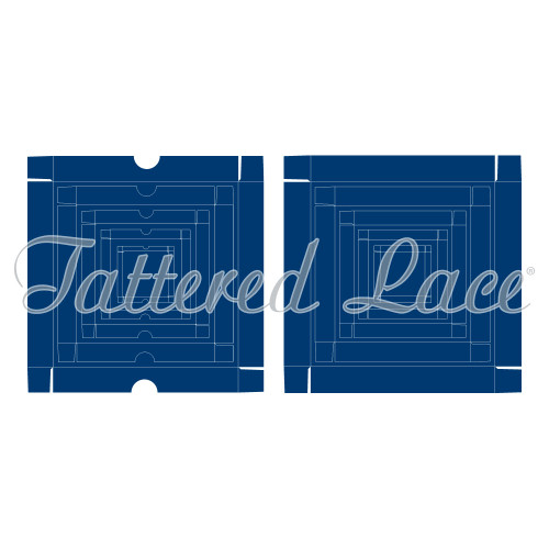Tattered Lace Die - Essentials by Tattered Lace - Box Base & Lid (ETL037)