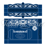 Tattered Lace Die - Essentials by Tattered Lace - Stationery Box (ETL072)