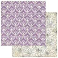 Photoplay - Bootiful - 12 x 12 Damask Scrapbook Paper (BT2307)