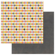 Photoplay - Bootiful - 12 x 12 Harlequin Scrapbook Paper (BT2308)