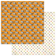 Photoplay - Bootiful - 12 x 12 Pumpkins Scrapbook Paper (BT2310)