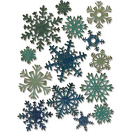 Sizzix Thinlits Dies by Tim Holtz - Mini Paper Snowflakes
