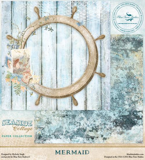 Blue Fern Studio - Seaside Cottage - Mermaid