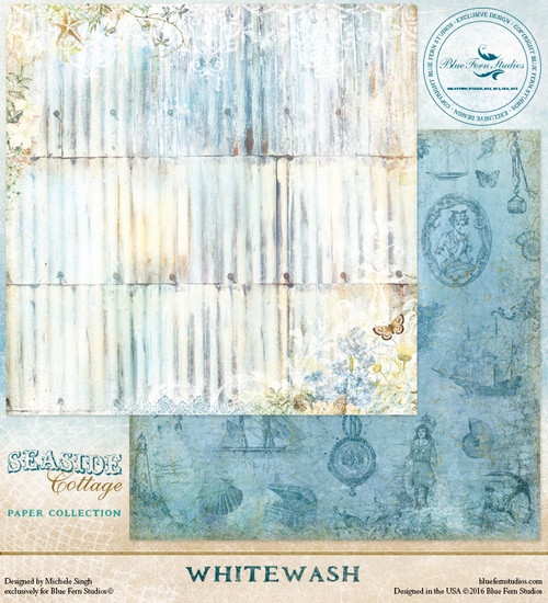 Blue Fern Studio - Seaside Cottage - Whitewash