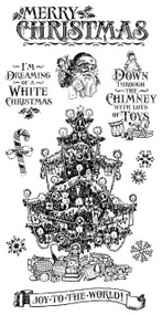 Graphic 45 - St Nicholas - Cling Stamp Set 2 (ICO372)