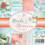 Wild Rose Studio - 6 x 6 Paper Pad Birds & Berries