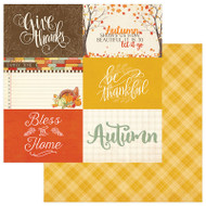 Photoplay - Falling Leaves - 12 x 12 Cards 4 x 6 Scrapbook Paper