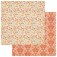 Photoplay - Falling Leaves - 12 x 12 Falling Leaves Scrapbook Paper