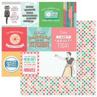 Photoplay - Slightly Sassy - 12 x 12 Snarky Cards Scrapbook Paper