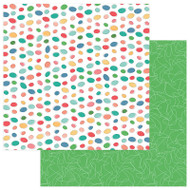 Photoplay - Slightly Sassy - 12 x 12 Today's Menu Scrapbook Paper