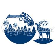 Tattered Lace Essentials - Reindeer Scene (ETL222)