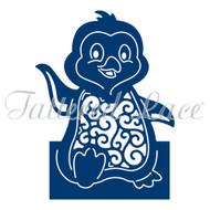 Tattered Lace Essentials Die - Christmas Cuties Penguin (ETL152)