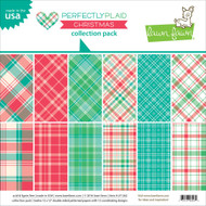 Lawn Fawn - Christmas Petite Paper Pack - Perfectly Plaid (LF-1261)
