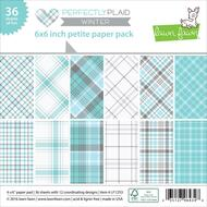 Lawn Fawn - Petite Paper Pack - Winter - Perfectly Plaid (LF1253)