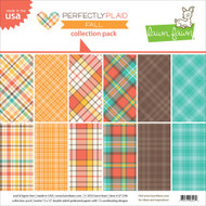 Lawn Fawn - Collection Pack - Fall - Perfectly Plaid (LF1246)