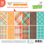 Lawn Fawn - Petite Paper Pack - Fall - Perfectly Plaid (LF1245)