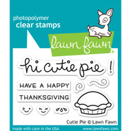 Lawn Fawn - Rubber Stamps - Cutie Pie (Preorder) (LF1210)