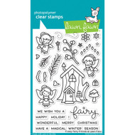 Lawn Fawn - Rubber Stamps - Frosted Fairy Friends