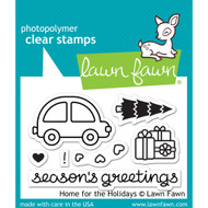 Lawn Fawn - Rubber Stamps - Home for the Holidays (Preorder) (LF1220)