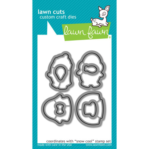 Lawn Fawn Cuts - Snow Cool (Preorder) (LF1227)