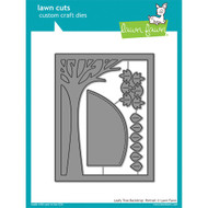 Lawn Fawn Cuts - Leafy Tree Backdrop Portrait (Preorder) (LF1238)