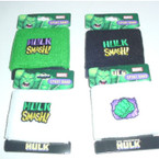 Hulk Design Teri Cloth Wristbands 12 per display .50 ea