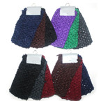 "3 Pk 2.5"" Crochet Headwrap Winter Colors 12-3 pks per bag"