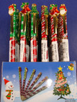 Christmas Diamond Cut Gift Pen 24 per counter display ON SALE .55 EACH