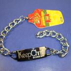 Keep Christ in Christmas Silver Heavy Link Bracelet ON SALE .60 ea