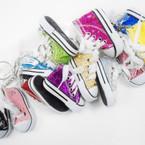 """3"""" Glitter Sneaker Keychain Asst Colors .56 ea"""