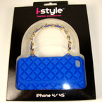 Silicone iPhone Purse Case Fits 4/4S sold by dozen 6 colors