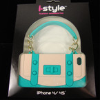 Fancy Style Silicone iPhone Purse Case Fits 4/4S sold by dozen 6 colors